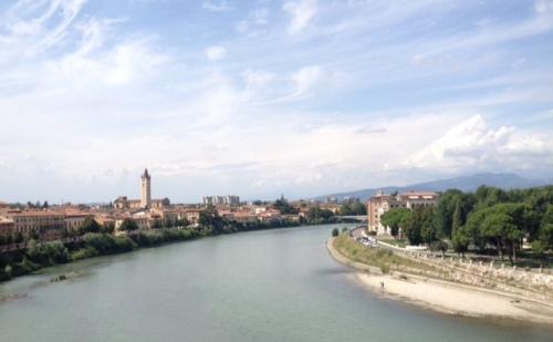 Verona Adiger River
